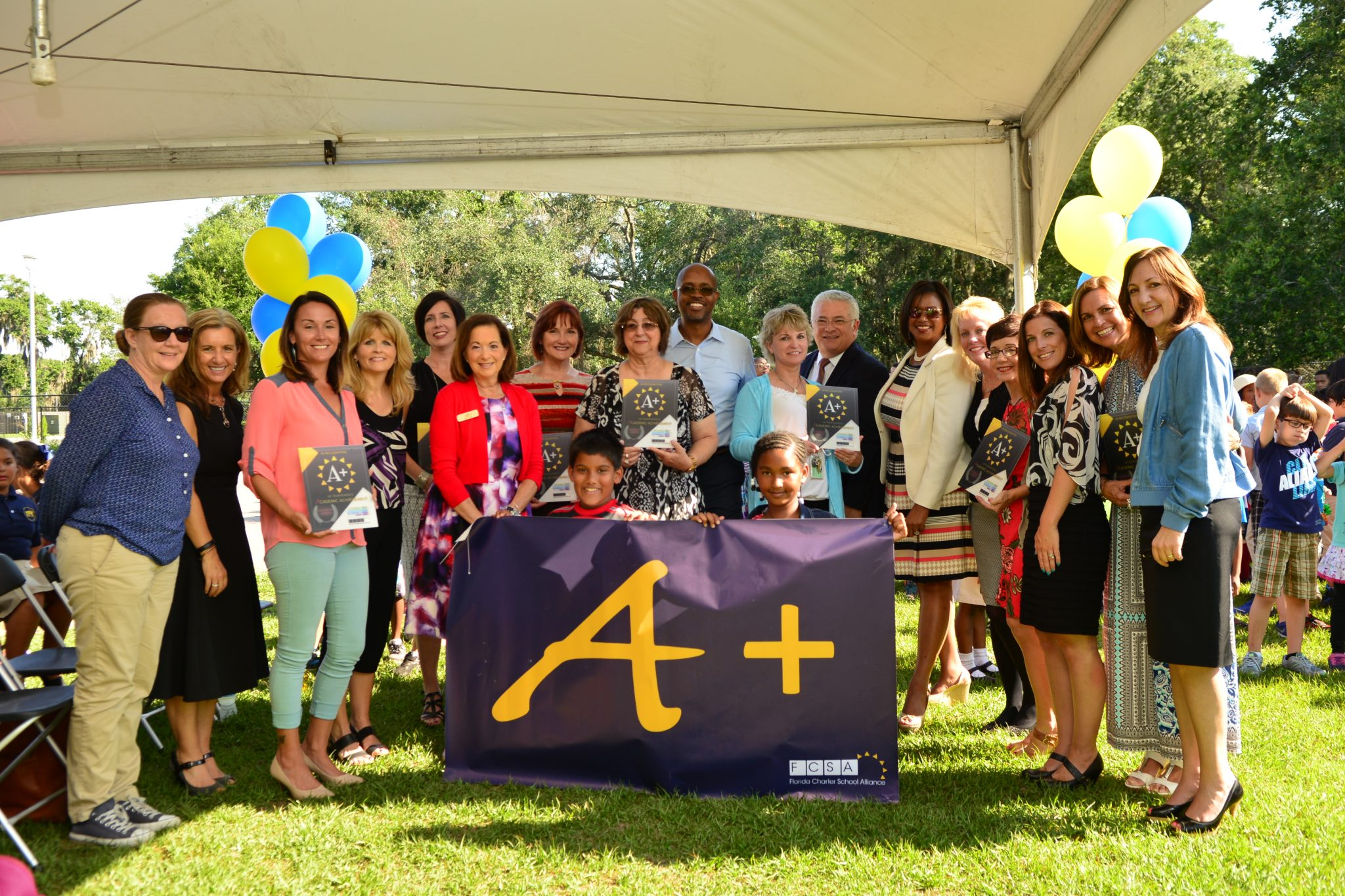 Celebration in Tampa Recognizes Top Schools & Principals