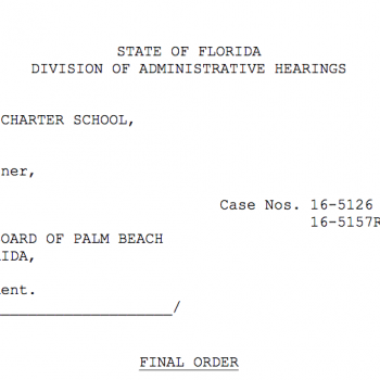 Judge rules that Palm Beach School Board overstepped its legal authority in  restricting charters