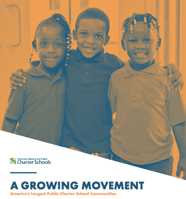 New Report Highlights Districts with Highest Charter School Growth
