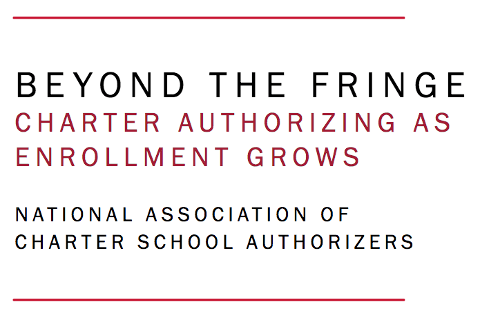 Beyond the Fringe: Charter Authorizing as Enrollment Grows