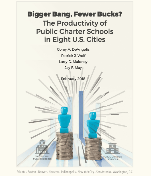 Bigger Bang, Fewer Bucks? The Productivity of Public Charter Schools in Eight U.S. Cities