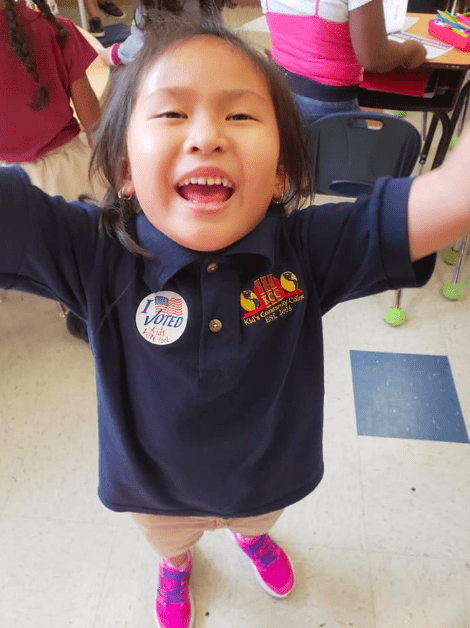 Charter School Students Participate in #Midterms2018 via Mock Elections, Classroom Activities