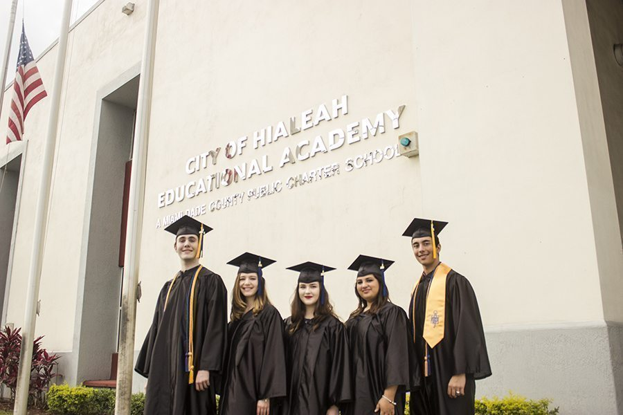 Hialeah Educational Academy Seniors Soar