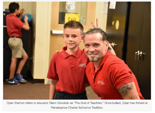 Siblings find safety, inspiration & second family at charter school