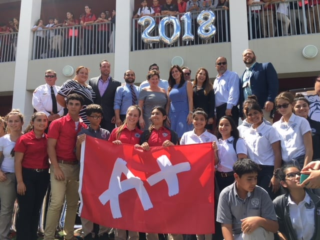 City of Hialeah Educational Academy Gets an A