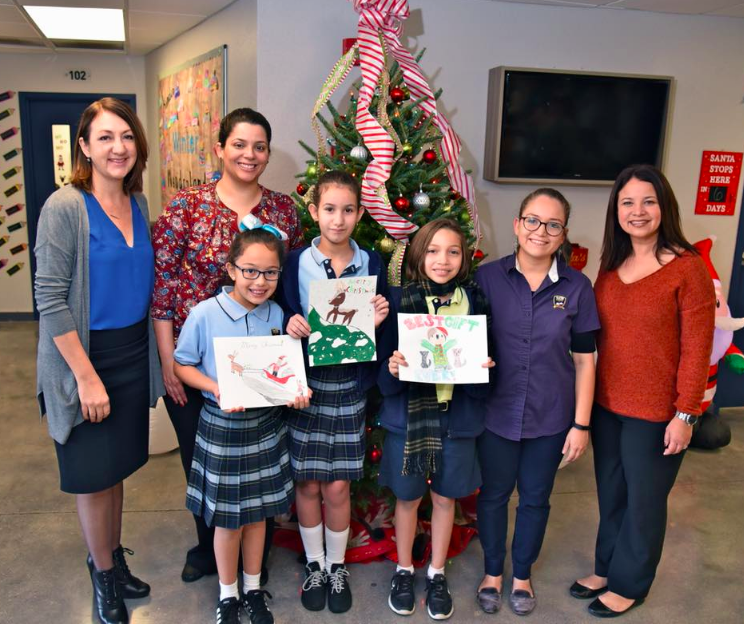 Mater Grove student designs winning FCSA Holiday Card