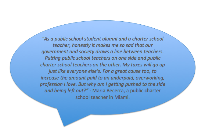 Teachers, Parents Speak Up for #allteachers
