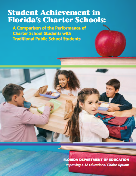 New Report Finds Florida Charter School Students Consistently Outperform Their Peers in District-run Schools
