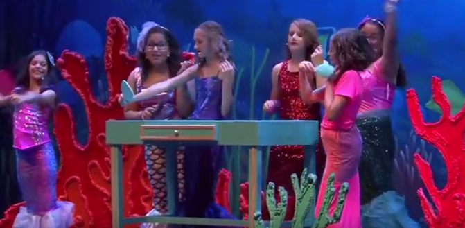 Athenian Academy students perform at Disney Springs
